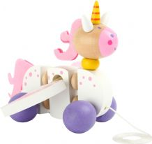 Unicorn Pull-Along Toy